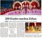 200 Kinder machen Zirkus (WNZ) 13.06.2014