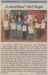 10.12.2010 Leseschloss ehrt Sieger (WNZ)