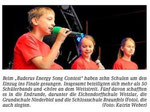 08.06.2012 Sieger des Buders Energy Song Contest (WNZ)