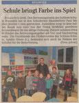 12.01.2011 Schule bringt Farbe ins Spiel (WNZ)