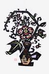 ⑥和花<ふよう・銀水引>