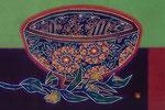 花詰菊龍文鉢