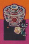 ④赤玉椀と白玉椿