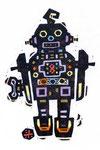 ブリキのロボット
