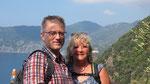 anderen Wanderern die Kamera anvertraut :-)