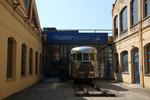 Eingangsbereich zum Piaggio Museum