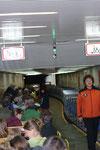 2 Züge bringen die Touris in den Berg