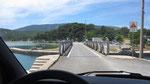 Drehbrücke bei Osor