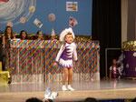 Tanzmariechen Kim Weid vom Landauer Carneval Club (LCC)
