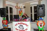 Unser DJ HalliGalli sorgte für Stimmung in der Bar