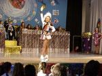 Tanzmariechen Marie Merling vom Landauer Carneval Club (LCC)