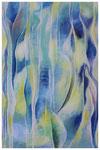 """""""Blau trifft Gelb"""", Acryl auf Leinwand, 80x100cm, 2015"""
