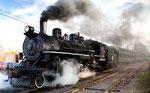 Steam engine: Richard Trevithick, 1801
