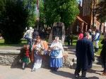Harzer Kiepenfrauen in Ostróda
