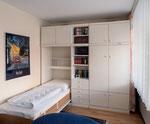 Borkum - Ferienwohnung im Haus Seeblick (App. 10II) Wandschrankbetten