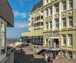 Borkum - Ferienwohnung im Haus Seeblick (App. 10II) Blick auf die Fußgängerzone