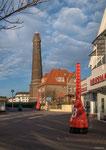 Borkum: Neuer Leuchtturm in der Fußgängerzone
