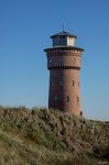 Borkum - Alter Wasserturm in den Dünen am Nordstrand