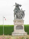 Statue de Richemont à Formigny