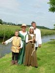 Famille médiévale