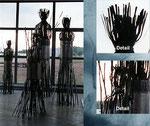 Serie Rohrfiguren, Metallobjekt, 2001 - © Copyright 2014 by HEINRICH BETZ, Rheinland-Pfalz/Saarland | Alle Rechte vorbehalten