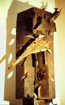 Rabenpfahl, Objekt, 1994 - © Copyright 2014 by HEINRICH BETZ, Rheinland-Pfalz/Saarland | Alle Rechte vorbehalten
