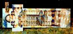Dom zu Speyer, Tafelbild nach Bauplan, 2002 - © Copyright 2014 by HEINRICH BETZ, Rheinland-Pfalz/Saarland | Alle Rechte vorbehalten