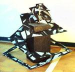 Quadrat explor, Objekt, 1997 - © Copyright 2014 by HEINRICH BETZ, Rheinland-Pfalz/Saarland | Alle Rechte vorbehalten