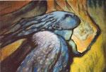 Engel (Detail), Malerei, 1998 - © Copyright 2014 by HEINRICH BETZ, Rheinland-Pfalz/Saarland | Alle Rechte vorbehalten