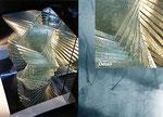 Emporium, Glasmasseln, Metallspiegelobjekt, 2002 - © Copyright 2014 by HEINRICH BETZ, Rheinland-Pfalz/Saarland | Alle Rechte vorbehalten