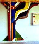 Wandgestaltung, Schule Waldmohr-Breitenbach Saar, 1990 - © Copyright 2014 by HEINRICH BETZ, Rheinland-Pfalz/Saarland | Alle Rechte vorbehalten