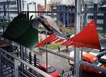 Swing- Wing C, Hängeobjekt, 2003 - © Copyright 2014 by HEINRICH BETZ, Rheinland-Pfalz/Saarland | Alle Rechte vorbehalten