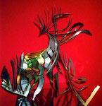 Metallobjekt, o.T., 2001 - © Copyright 2014 by HEINRICH BETZ, Rheinland-Pfalz/Saarland | Alle Rechte vorbehalten