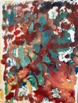 Nr. 2019-41; Farbspiel, Aquarell, 24x30, Tonzeichenpapier
