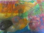 Nr. 2018-47; Farbenspiel in Pastell 4, Ölpastell, A4, Zeichkarton