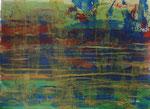 Nr.2019-12; Unterwasser?; Acryl, gespachtelt, 36x48, Zeichenkarton