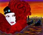 Omaggio a Venezia - Olio su tela - 40 x 50 cm - 2006 - ( collezione privata )
