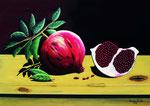 Melagrane - Olio su tela - 50 x 70 cm - 2016  (opera disponibile)