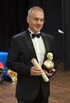 """19 dicembre 2018 - Lecce ( Italia ), Antico Monumentale Teatro Apollo. Premio Internazionale d'Arte """"Pablo Picasso"""". Momento della premiazione.  ( ItalPhoto Mesagne )"""