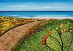 La primavera del mare - Olio su tela 50 x 70 cm - 2008 ( disponibile )