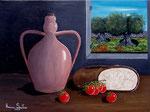 Colori e sapori della mia terra - Olio su tela - 30 x 40 cm - 2008