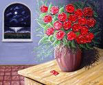 Il sogno - Olio su tela ( materico ) - 50 x 60 cm - 2010