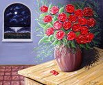 Il sogno - Olio su tela ( materico ) - 50 x 60 cm - 2010  (opera disponibile)