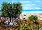 Incanto mediterraneo - Olio su tela - 50 x 70 cm - 2010  (opera disponibile)