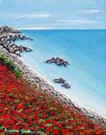 Mare d'estate - Olio su tela - 24 x 30 cm - 2011