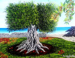Terra di Puglia - Olio su tela - 40 x 50 cm - 2018 ( opera disponibile )