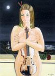Romantica sinfonia alchiaro di luna - Olio su tela - 50 x 70 cm - 2012 (opera disponibile)