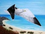 Libertà senza tempo - Olio su tela - 60 x 80 cm - 2014  (opera disponibile)