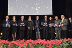 """Lecce, 17 dicembre 2015 - Foto ricordo del Comitato d'Onore al Premio """" David di Bernini """" 2015 ( Italphoto Mesagne )"""