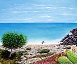 Il richiamo del mare - Olio su tela - 50 x 60 cm - 2011